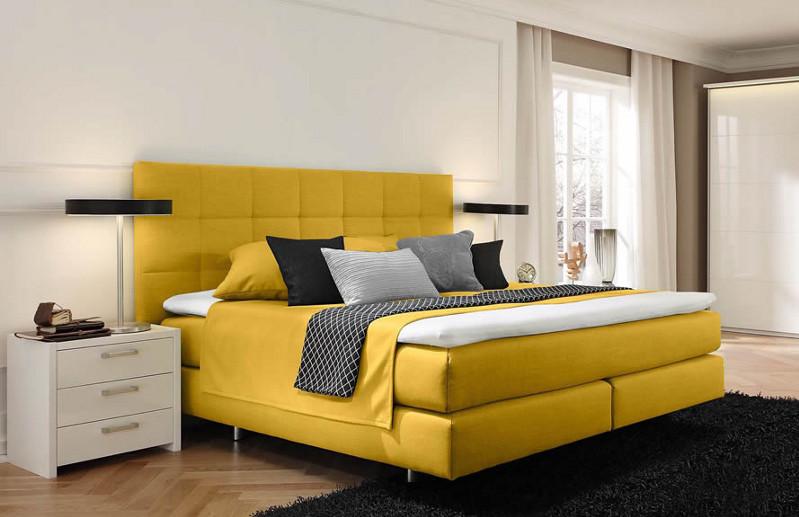 Couture Bett gelb 01