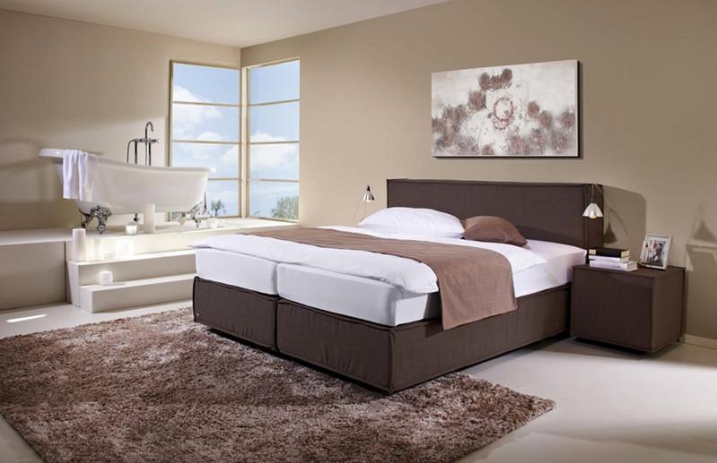Boxspringbetten machen aus jedem Schlafzimmer ein Paradies ...